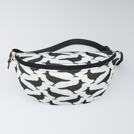 Black Ravens - Pattern Fanny Pack