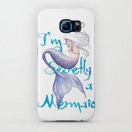 Secretly a Mermaid iPhone Case