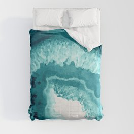 Agate Watercolor 1 Comforters