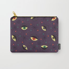 Reptile witch eyes pattern Carry-All Pouch
