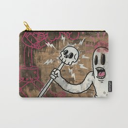 THE CARTOON CAT PINK Carry-All Pouch