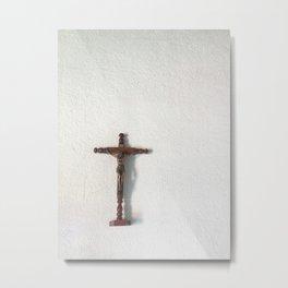 Jesus Cross in Guatemala. Metal Print