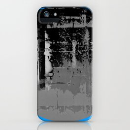 Color Chrome - B/W graphic iPhone Case