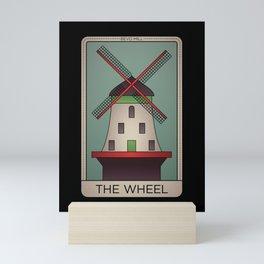 St. Louis Wheel Tarot Mini Art Print