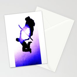 Free Fall II Stationery Cards