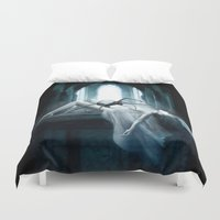 demon Duvet Covers featuring Demon by Joe Roberts