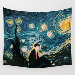 Taehyung Starry Night Wall Tapestry