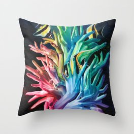 Ontology of Touch Throw Pillow