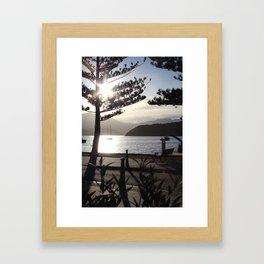 Akaroa Harbour Framed Art Print