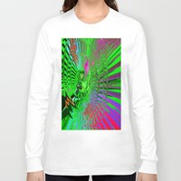 psychedelic Long Sleeve T-shirts featuring Psychedelic  by Elizabet Chacon Artworks