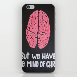 Mind of Christ iPhone Skin