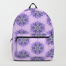 Purple Mosaic Mandala Backpack