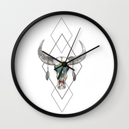 Indian Courage Wall Clock