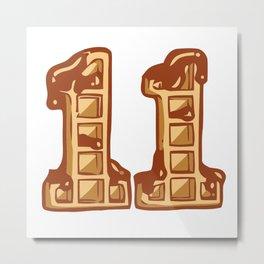 Eleven Cookies Metal Print