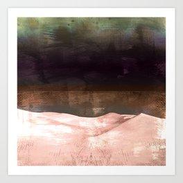 PALE DESERT Art Print