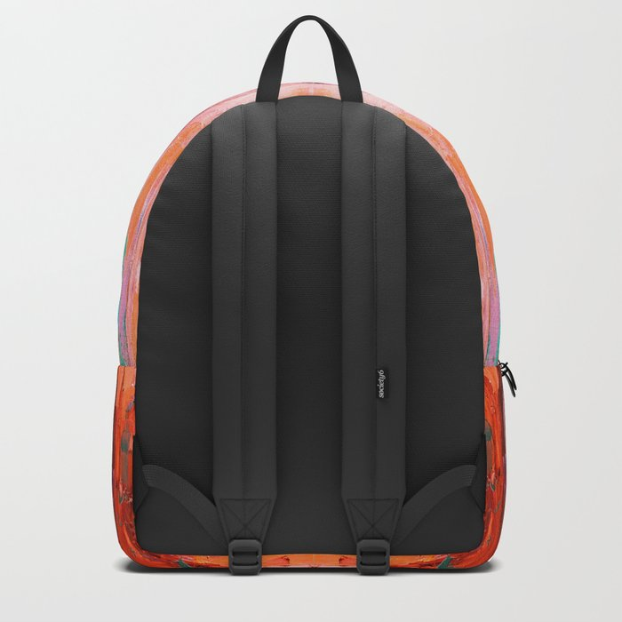 Abstract Blush Pattern Backpack
