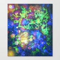 chaos Canvas Prints featuring Chaos by ArtByRobin