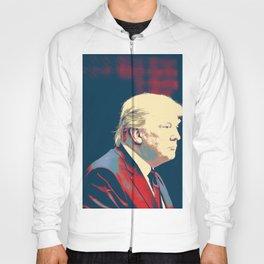 President Donald Trump - Make America Great Poster Hoody