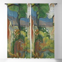 Paradise Lost (1848-1903) by Paul Gauguin. Blackout Curtain