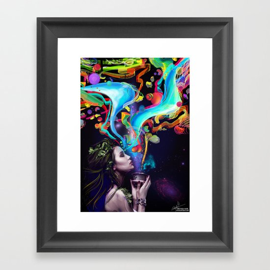 Yuthika Framed Art Print