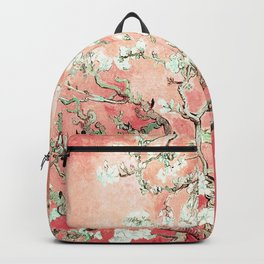 Van Gogh Almond Blossoms : Peach Backpack