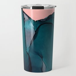 Sea Mountain Climb Travel Mug
