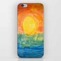 hindu iPhone & iPod Skins featuring Hindu Creation by Brusling