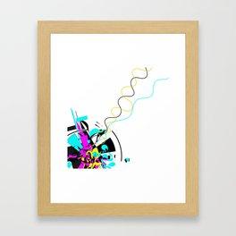 Emissions Framed Art Print