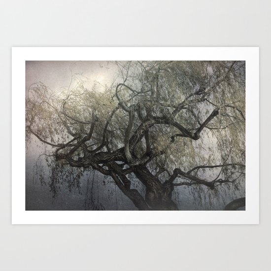 The Whispering Tree Art Print