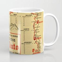 Tour De France 1914 Coffee Mug