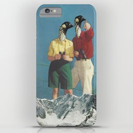 Jim and Christine iPhone Case