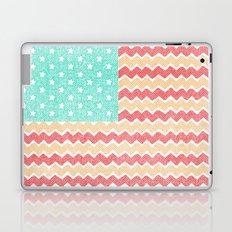 Zig Zag Flag. Laptop & iPad Skin
