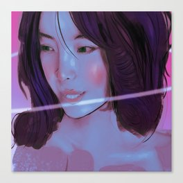 Wip Canvas Print