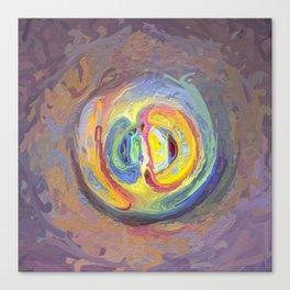 Abstract Mandala 7 Canvas Print