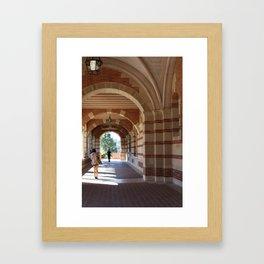 UCLA Framed Art Print