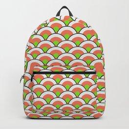 California Roll Sushi Japanese Print Seamless Pattern Backpack