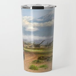 A trip in Tanzania Travel Mug