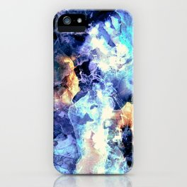 Lilac Antartica iPhone Case