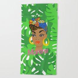 Morena Doll Beach Towel