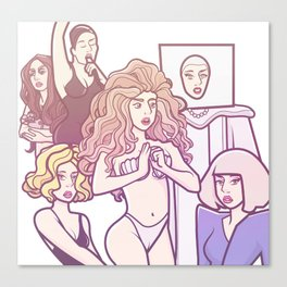 Applause VMA performance Canvas Print