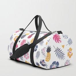 FOREVER SUMMER on WHITE Duffle Bag