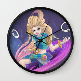 Dimensional Zoe, the Aspect of Twilight Wall Clock