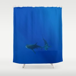 Hawaiian Shark VIII Shower Curtain