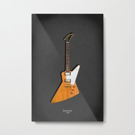 The Explorer Guitar 1958 Metal Print
