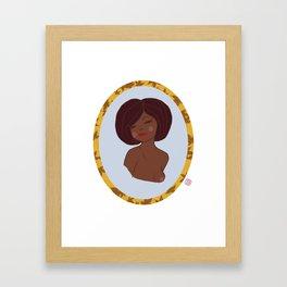 Valentine Pinup 2 Framed Art Print