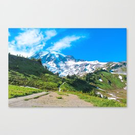 A Hike in the Mountains Canvas Print