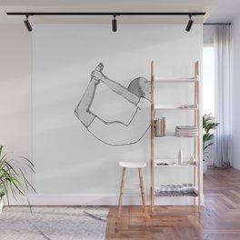 yoga pose 5 Wall Mural