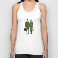 couple Tank Tops featuring Couple by uzualsunday