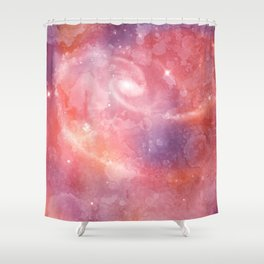Acrylic Candy Universe Shower Curtain