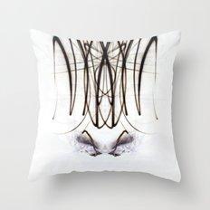 Lights Mirror Image IV Throw Pillow